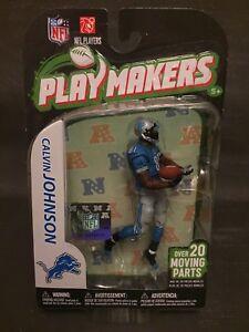 2012 Mcfarlane Playmakers Calvin Johnson Detroit Lions Action Figure NIB unopen