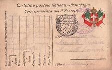 FRANCHIGIA MILITARE DEL R. ESERCITO 1917 - POSTA MILITARE 14a DIVISIONE C11-27