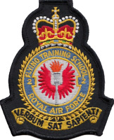 No 2 Flying Training School Royal Air Force RAF Crest Embroidered Patch