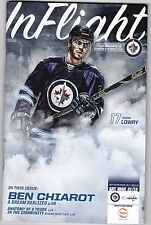 Winnipeg Jets Program Washington Capitals Adam Lowry