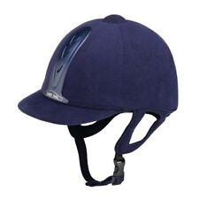 NEW ** PAS015 STANDARD**HARRY HALL** NAVY LEGEND RIDING HAT HELMET 7/57cm