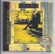 STING TEN SUMMONER'S TALES Japon MINI LP CD SHM police UICY - 78282 New