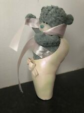 TWINKLE TOES - RARE ME TO YOU BEAR FIGURINE RESIN ORNAMENT IN A BALLET SHOE