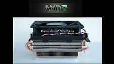 AMD Phenom II Heatsink CPU Fan for X4 900's Socket AM2-AM3 - New Near Silent Fan