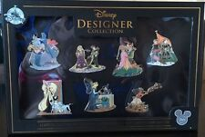 2017 D23 Expo Disney Designer Collection Exclusive Pin Set Limited Edition 1000
