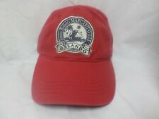 Margaritaville Jimmy Buffet Orlando Embroidered Red Nwt Ball Cap