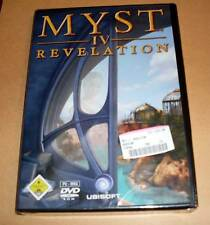 PC GAME GIOCO MYST IV 4-REVELATION-tedesco non aperto NUOVO OVP