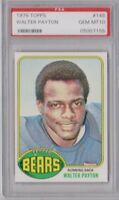 1976 Topps #148 Walter Payton Rookie RC PSA 10 Beautiful Example of Sweetness RC