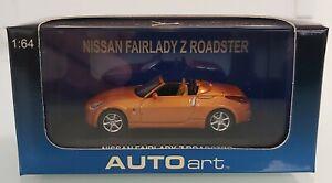 Autoart 20502 Nissan Failady Z Roadster Sunset Orange
