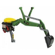 Rolly Toys John Deere Heckbagger Bagger Kinderbagger Sandbagger Sitzbagger grün