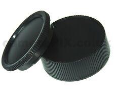 Leica M Body Cap & Rear Lens Cap Protector Set for Leica M LM cameras and lenses