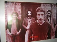 the Who -Vintage Poster - Sepia tone - Exc. New condition  17 x 23""