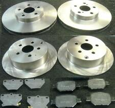 Toyota Celica Gen6 AT200 1.8 ST 114bhp Front Brake Pads Discs 255mm Vented