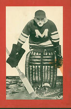 1934-43 Group I Beehive Photos Alex Connell Montreal Maroons Single