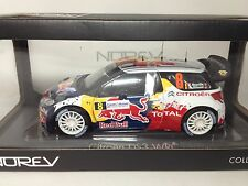 1/18 Novev Citroen DS3 WRC Rallye de France 2012 Red Bull No. 181553