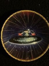 Star Trek The Voyager Plate Collection Uss Enterprise