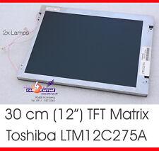 """TFT DISPLAY MATRIX TOSHIBA LTM12C275A 31cm 12"""" TFT COLOR SIMATIC NIXDORF - B72-2"""