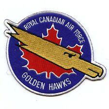 RCAF CAF Canadian Golden Hawks Squadron Colour Crest Patch 1