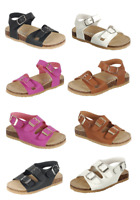 Baby Toddler Girls  Double -Strap Cork-Bed Open Toe Sandals Summer Beach Shoes