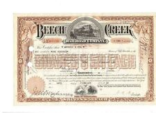 Beech Creek Railroad Company 1936