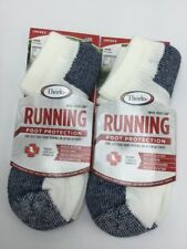 Unisex- Men's/Woman's Thorlos Running Socks Foot Protection Lot Of 2 Size Large