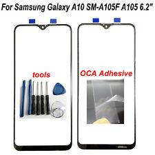 """6.2"""" para Samsung Galaxy A10 SM-A105F A105 Pantalla de Cristal Frontal Exterior Lente + Oca"""