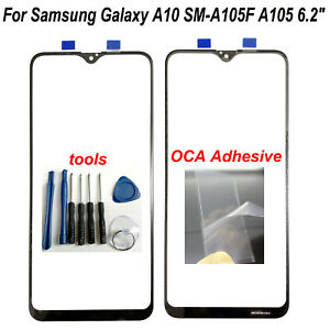 "6.2"" For Samsung Galaxy A10 SM-A105F A105 Outer Front Screen Glass Lens + OCA"