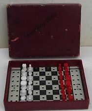 TRAVELLING CHESS – H. B. F. – Rare Vintage version