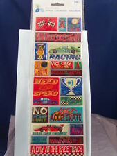NEW MOMENTA ATD STICKERS BOY PUFFY RACING AUTO ST2291 1610
