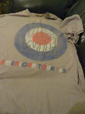 The Who US Tour 82 Replica T Shirt XL