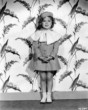 8x10 Print Shirley Temple Cute Fashion Portrait 1935 Movie ? #STAE