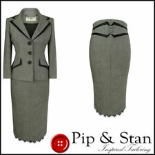 Wool Suits & Tailoring for Women 10 Trouser/Skirt 2 Piece