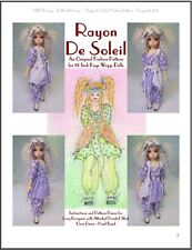 """Rayon De Soleil"" 18 inch Ball Jointed Doll BJD Kaye Wiggs Clothing Pattern"