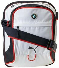 NEW PUMA PREMIUM BMW M MOTORSPORT PORTABLE MESSENGER SHOULDER BAG WHITE PMMO2012