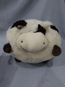 Large Fluffy Soft Sheep Teddy Bear American Mills Soft Fabric White Brown #271