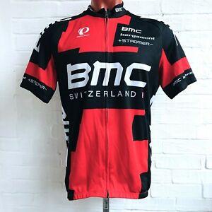 Pearl Izumi Cycling Jersey Shirt Mens BMC Switzerland Full Zip Size L