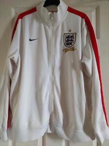Nike Mens England 2013 Football Tracksuit Top Size XXL