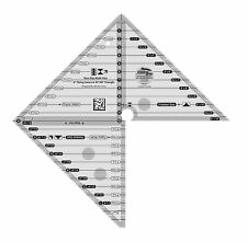 Creative Grids Quilt Ruler - Flying Geese Trim Tool - Fabric Cutting CGRMSFG4590