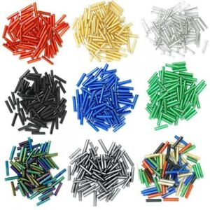 Trimits Long Bugle Beads Glass 9mm 15g 9 Colours