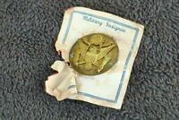 Vintage US Military Insignia Screw Post (bent) old Estate Find Unusual AS IS AM