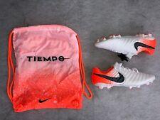 Nike tiempo legend 7 elite FG, blanco/naranja, levas