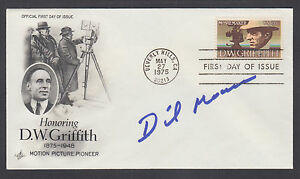 Dickie Moore, American actor appeared in 100+ films, signed D.W. Griffith FDC
