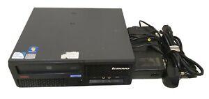 Lenovo ThinkCentre M58 Core 2 Duo 2.6GHz 5GB 160GB DVD Windows 7 Computer