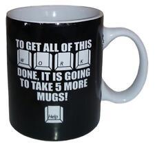 Boston Warehouse To Get All Of This Done Coffee Mug (12oz) Black B1307