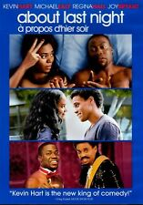 NEW DVD- ABOUT LAST NIGHT - Kevin Hart, Michael Ealy, Regina Hall, Joy Bryant,