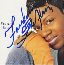 Fantasia signed I Believe cd single