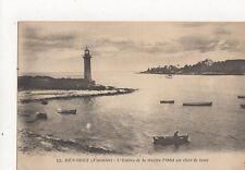 Benodet Entree de la Riviere l'Odet 1927 Vintage Postcard France 344a ^