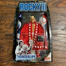 JAKKS PACIFIC  ROCKY III - THUNDERLIPS - HULK HOGAN - RARE - FREE SHIPPING -NIB
