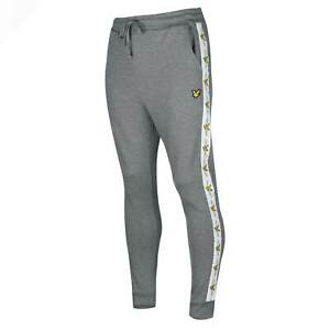 Mens Lyle and Scott Taped Joggers Fleece Jogging Bottoms Breathable New