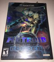 Metroid Prime 2: Echoes (Nintendo GameCube, Brand New Factory Sealed Read 1C